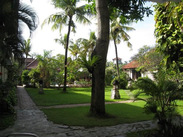 Tuin bij Appartement in Sanur Bali